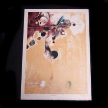 Carlos Nakatani (Ciudad de México 1934 - íd., 2004) Petrolífero. Litografía sobre papel algodón, 132/150. Firmada y fechada 1982.