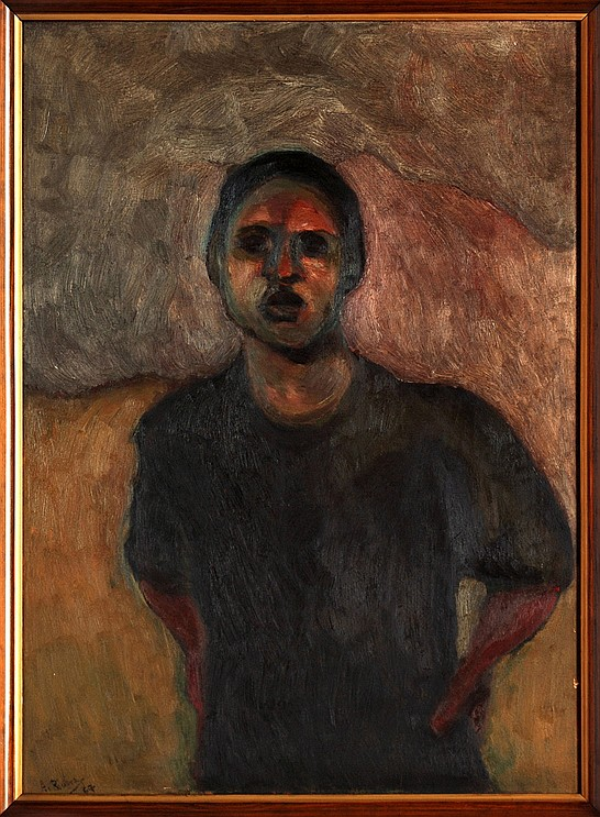 Arturo Rivera, Portrait of a Lady, Signed and dated 1967, Oil on Canvas
