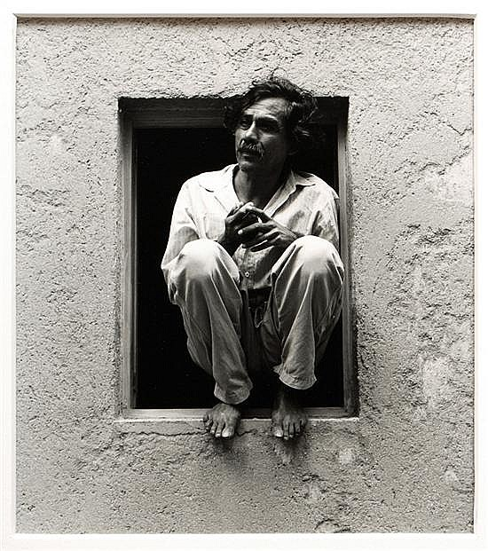 Graciela Iturbide, Pictures of Francisco Toledo (selfportrait, landscapes) singed, photographies. 5.91 x 8.66 x 12.6 x 13.78 inches.