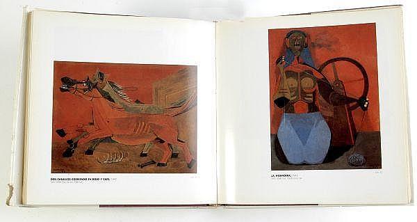 Tamayo 70. Rufino Tamayo 70 Años de Creación. México: 1987. Ilustraciones en negro y en color.