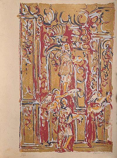 Carmen Parra. (México 1944). Carpeta con 7 Serigrafías 50 / 50. Firmadas. Dimensiones: 80 x 60 cm.