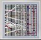 YAACOV AGAM, Multi-Mag Rhythm, Ca. 1990, Firmada. Serigrafía 13 / 70, 73 x 73 cm