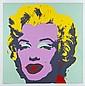 ANDY WARHOL, 11.23: Marilyn Monroe, Con sello en la parte posterior