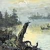 SEGUNDO AGUAIR HUERTAS, (Argentine, 1923-2010), Landscape, Oil on canvas, H 36 x W 36 inches, Segundo Huertas-Aguiar, Click for value