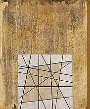 FRANCISCO CASTRO LEÑERO, (Mexican, born 1954), Paisaje, 1995, Acrylic on canvas, H 47½ x W 39½ inches