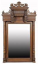 A FRENCH RENAISSANCE REVIVAL PIER MIRROR