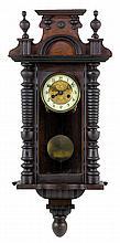 A RENAISSANCE REVIVAL WALL CLOCK