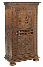 A FRENCH BRITTANY STYLE ARMOIRE