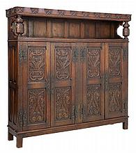 A GOTHIC REVIVAL CABINET
