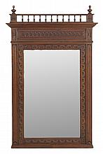 A FRENCH BRITTANY STYLE MIRROR