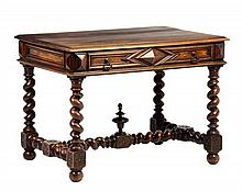 AN ITALIAN BAROQUE STYLE WRITING TABLE