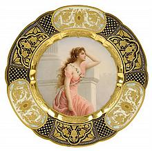A ROYAL VIENNA CABINET PLATE,