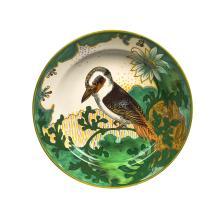 Gouda, Dutch art pottery 'Laughing Jackass' bowl, early 20th Century