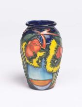Moorcroft, an Illyarrie designed vase, 2000