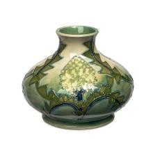 Moorcroft, 'Banksia' vase, circa. 1987