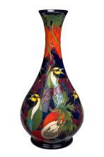 Moorcroft, Bird and Berry vase, 2012