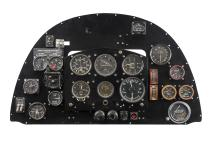 SUPERMARINE SPITFIRE MKV INSTRUMENT PANEL