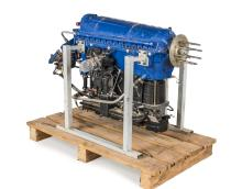 GIPSY MAJOR SERIES ONE AERO ENGINE  Manufactured by DeHavilland in 1942