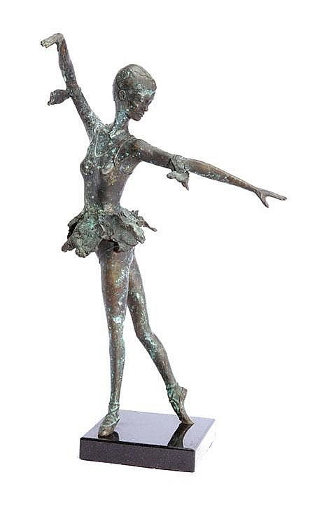OGILVIE, William (Bill) Ballet Dancer Bronze 1989