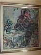 Esther Peretz Arad Untitled, Seated Lady on a, Esther Perez Arad, Click for value