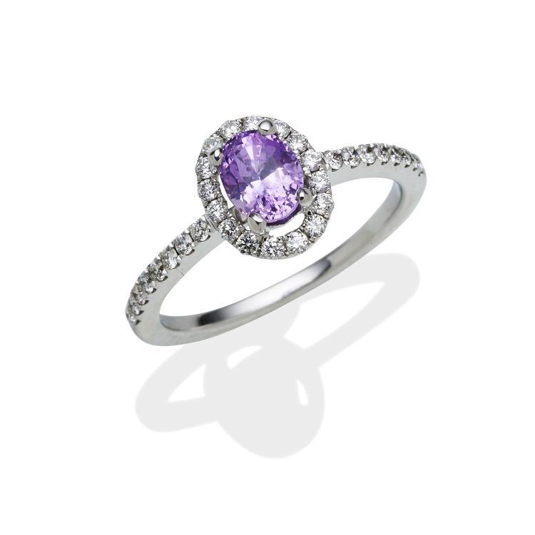 Bid Ring With Smal Diamonds