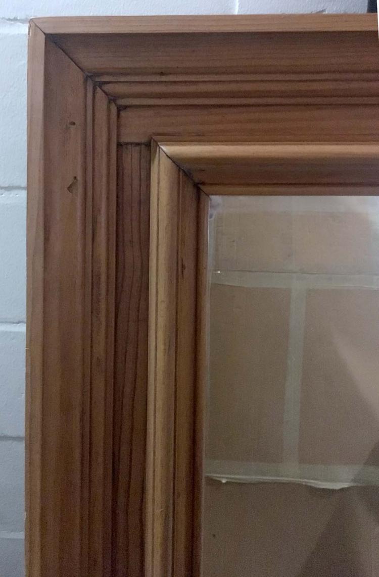 Pine framed mirror