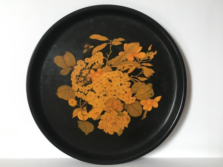 Two Toleware trays