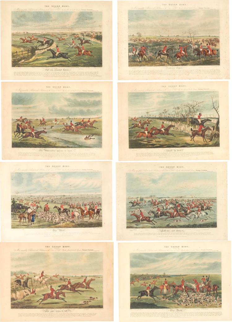 HENRY ALKEN (BRITISH, ACTIVE 20TH CENTURY) The Quorn Hunt