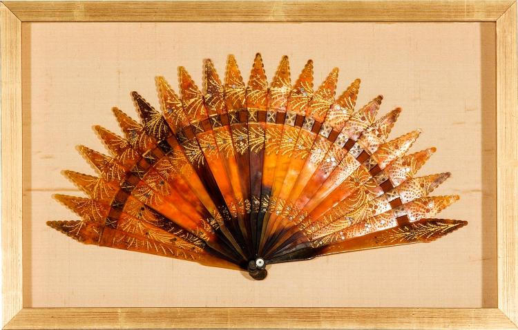 A collection of five fans, English, 19th century