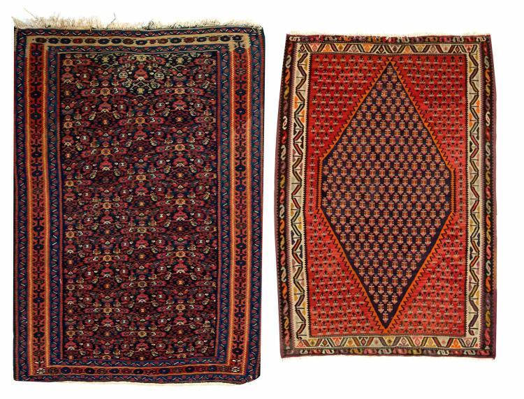 Two small Kilim carpets