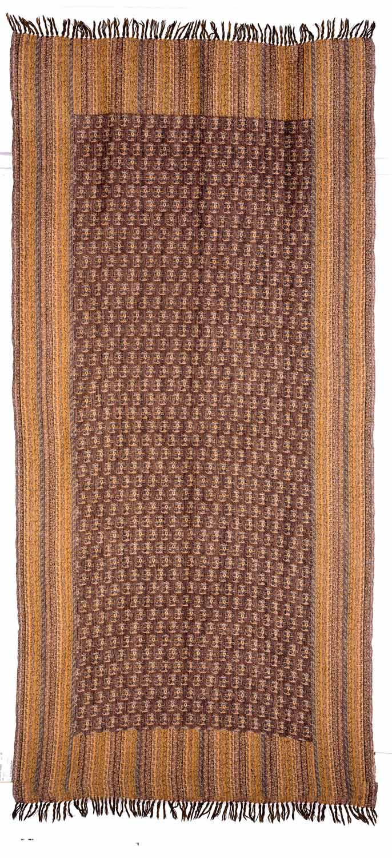 A bundle of six paisley shawls