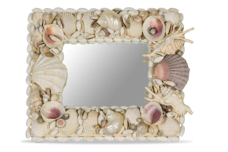 A shell mirror by Paul Bruce