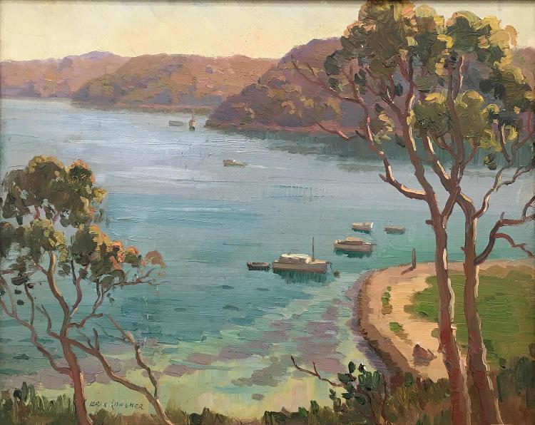 ERIK LANGKER (1898 - 1982)   (Sydney Harbour)