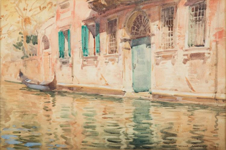 GEORGE OWEN WYNNE APPERLEY (BRITISH, 1884-1960) (Venice), 1911