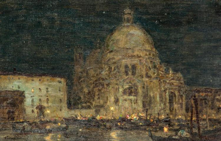 TERRICK WILLIAMS (BRITISH, 1860-1936) Night Fete, Venice, 1925