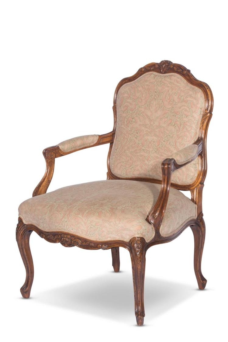 A French louis XV style armchair