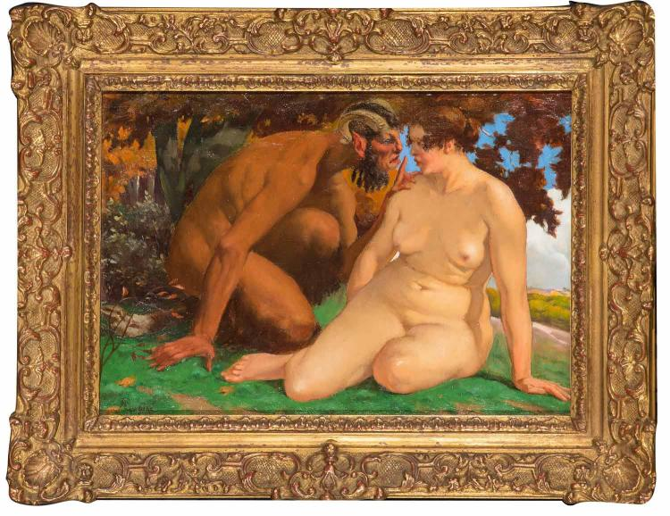 EUROPEAN SCHOOL Fawn and Nude
