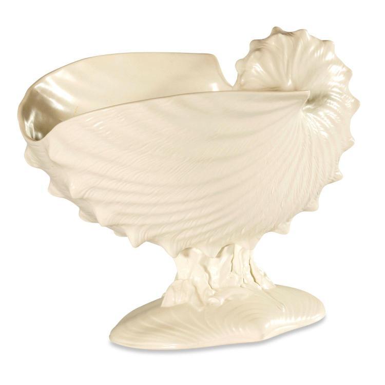 A Wedgewood Nautilus shell vase