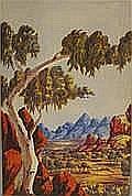 Ronald Uburttja View in the Kimberleys Watercolour