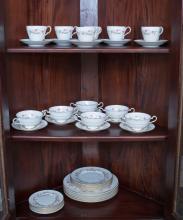 A Paragon Porcelain dinner set for six, 20th century