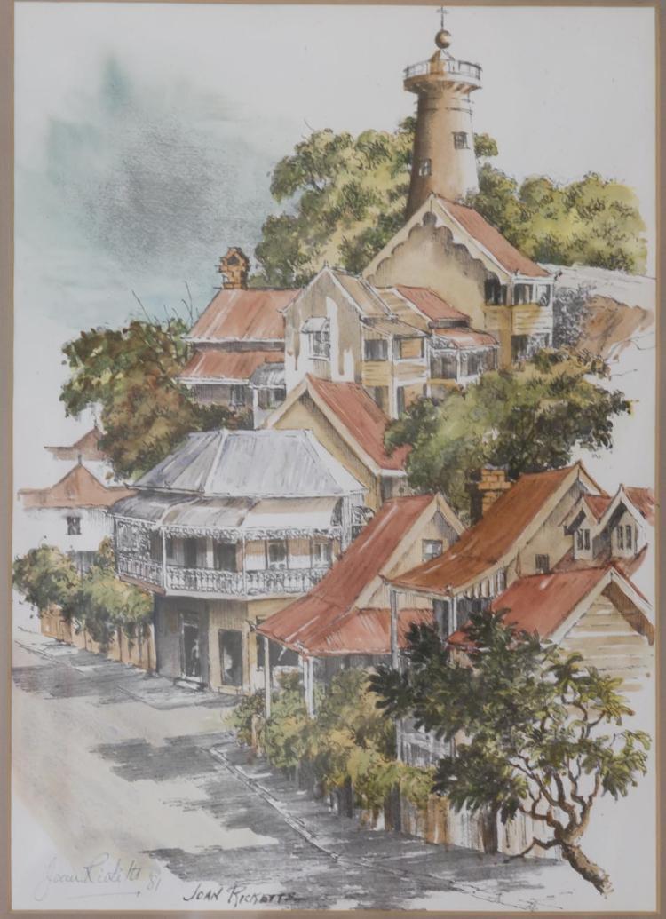 joan ricketts 1924 1984 terrace houses brisbane 1981wa On terrace house brisbane