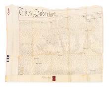 A collection of  four Indentures Mr W Gleadow to Mr Robert Keat, 1848 Robert Legge to John Upton, 1854 William Field to John Whitehead, 1869 Abraham Walker to Joseph Penny, 1857