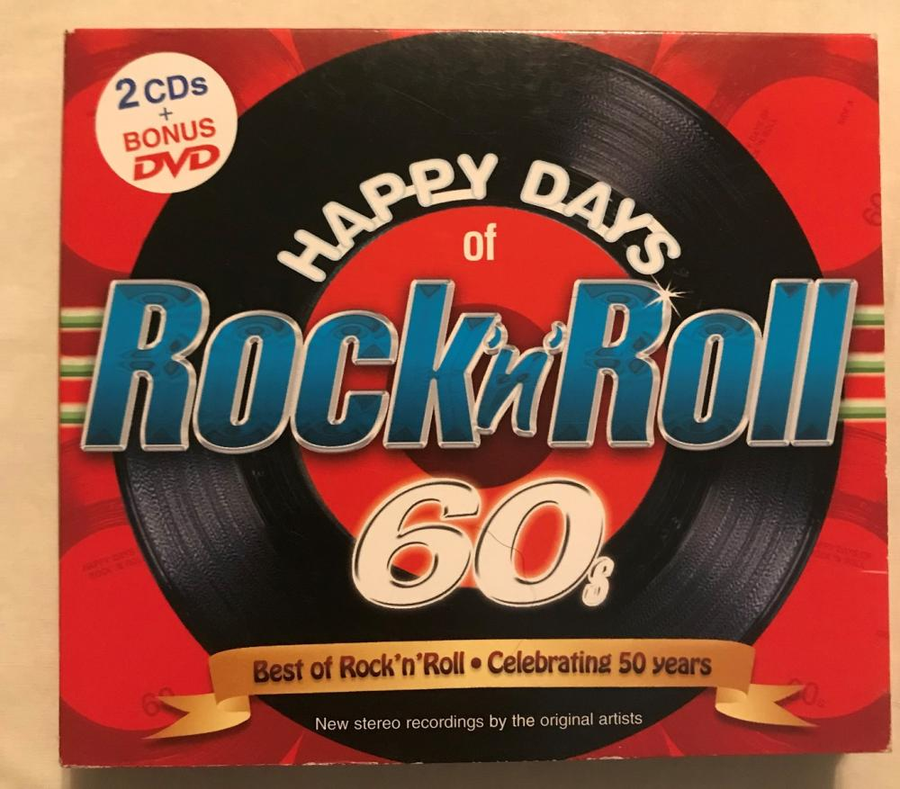 Music CD-Happy Days of Rock-n-Roll 60s