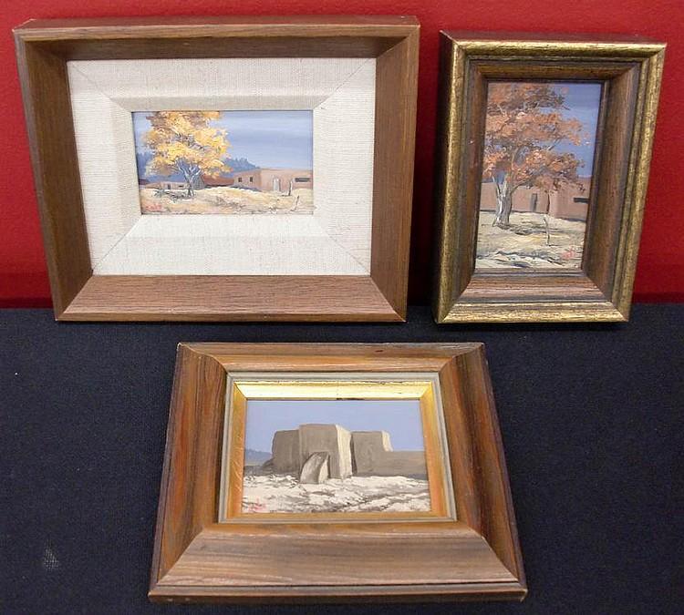 (3) Betty Jean Sabo (1928-? New Mexico) Miniature