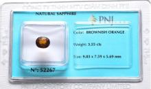 Certified Natural Saphire