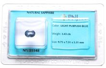 Certified Natural Sapphire #2