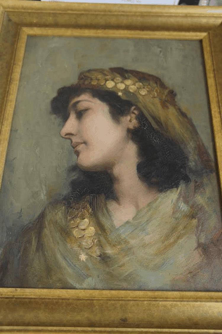 Robert Edward Morrison (1852-1925) Head and