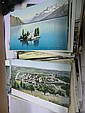 Approximately 180 international postcards mostly