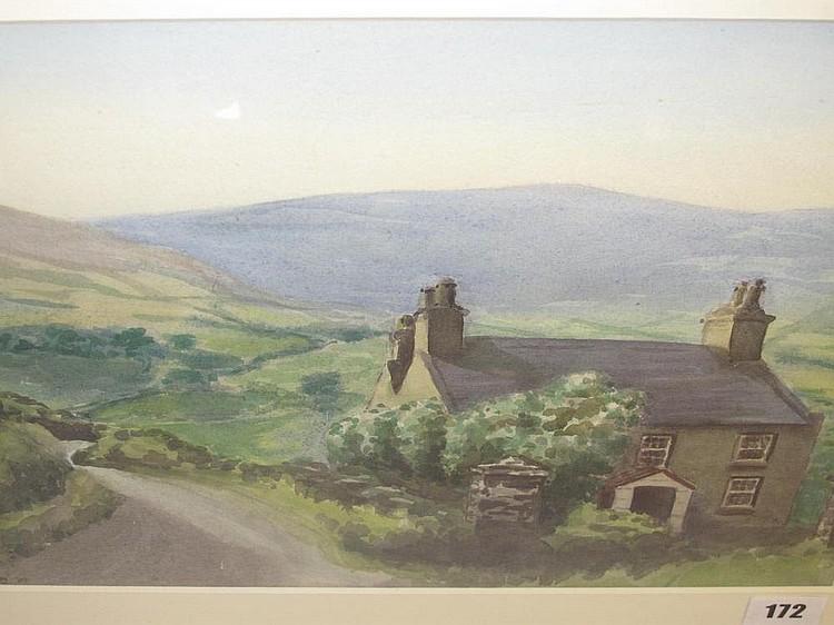 Frederick Charles Leach Winding road to Glen Roy