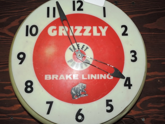 Grizzly Brake Lining : Grizzly brake linings clock